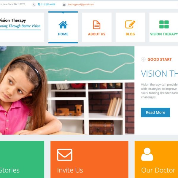 Ettinger Vision Therapy
