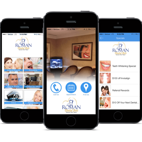 Roman Dental Arts Mobile App